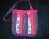 Stylish Handmade Quilted Tote Purse Bag
