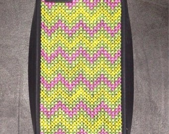 Cross stitched 5s Iphone case