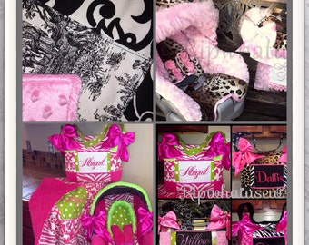 Custom Made Blankets Diaper Bags Dresses Onesies Pillows Wipe Cases