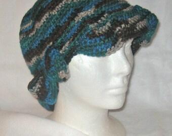 Crocheted Flapper Hat