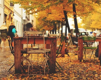 autumn in Berlin, photography, print, berlin, photo 8x12 home deco
