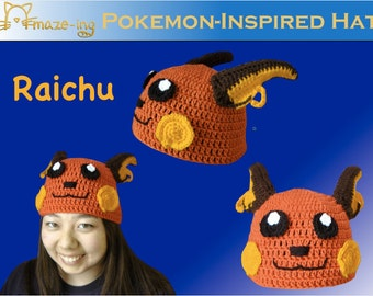 Amaze-ing Raichu-Inspired Hat - (Made to Order)