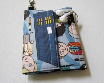 Nerd Herder gadget wallet in Doctor Who for iPhone 5, Android, Samsung Galaxy, digital camera, smartphone, guitar picks