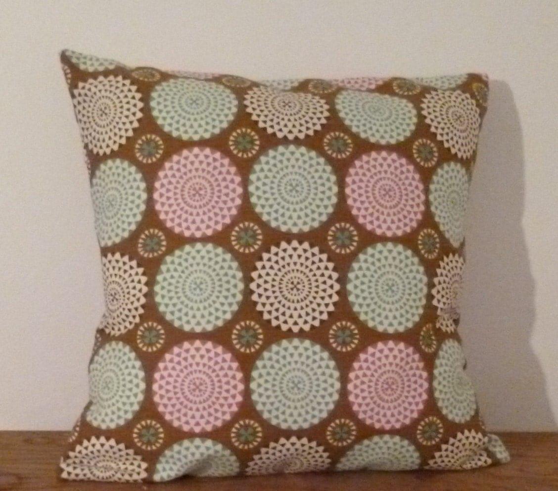 Pillow Brown Pillow Cover Pillow Throw 18x18 Fabric