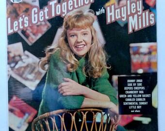 """Rare """"Let's Get Together"""" Hayley Mills Vinyl Soundtrack (1962) Walt Disney - Sealed"""