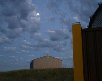 Twilight at the Farm - Digital Photo - Fine Art Print