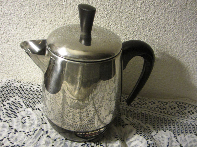 Vintage Electric Coffee Maker : Vintage Electric Percolator Coffee Pot / Coffee Maker