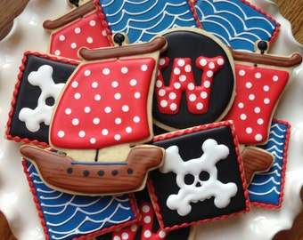 PIrates Sugar Cookie Collection