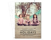SWEET and SIMPLE Holiday Card - DIGITAL