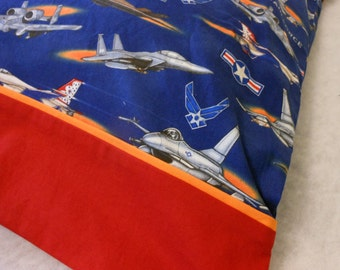 Pillowcase US Air Force Standard Size