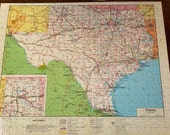 Texas State Map Jigsaw Puzzle