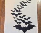 Bats on Bats on Bats Back Patch
