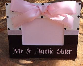 Me & Auntie Picture Frame