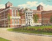 Civic Hospital OTTAWA Ontario Canada 1928 Vintage Postcard