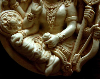 feel the power...DURGA  PENDANT ---one and half inches.