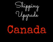 Canada Shipping Upgrade with Tracking Number