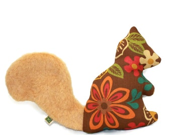 Extra Durable Dog Toy Squirrel 'DOUBLE FABRIC LAYER Construction'