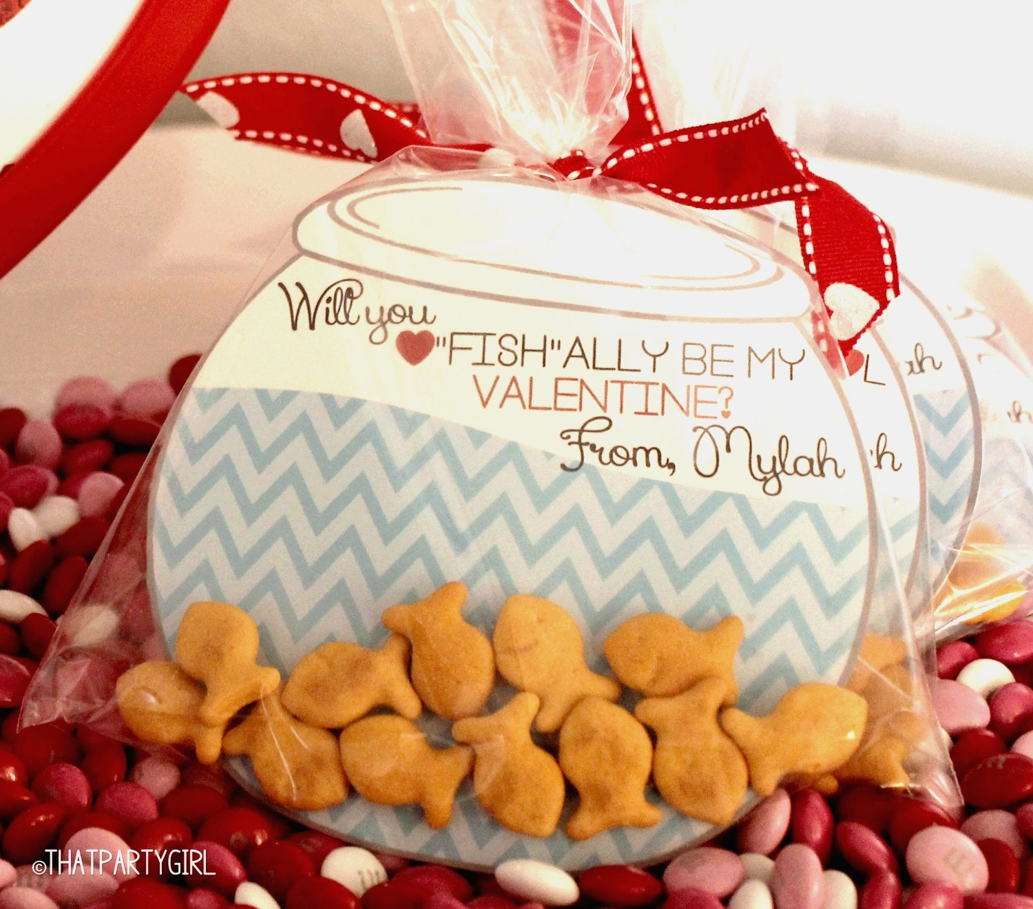 Gold Fish Valentines Day Cards DIY Personalized 4 – Different Valentines Cards