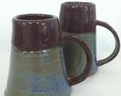 Set of 2 Pottery Mugs