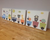Baby Nursery Art, Set of ...
