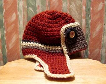 NEW Pattern Crochet Bomber Hat - Instant Download