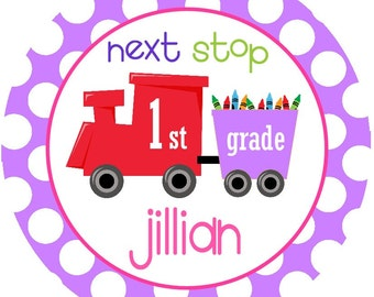 Kindergarten, Any Grade, Back to School, First Day Train