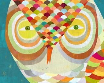 What a Hoot Owl, Canvas Art Print