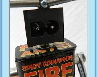 Fire Ant- Found Object Robot-  Assemblage- Junk Art
