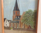 Painted Wall Hanging of Penkhull Church