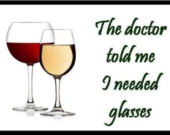 I Need Glasses - Magnet