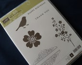 Stampin Up Hostess Set - BN Morning Meadow Clear Stamps