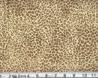 Per Yard Leopard Tiger Print Animal Fabric 100% cotton top quality material /ideal for Clothing/Craftings/home decor/ pillow covers