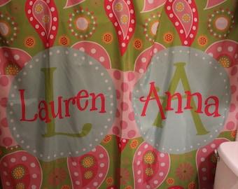 Kids Custom Shower Curtain