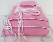Cot Bedding Set (pink)