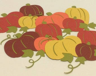 Fall Pumpkins - die cuts