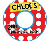 CD/DVD label - Spots and Dots - Customized Printable Digital File