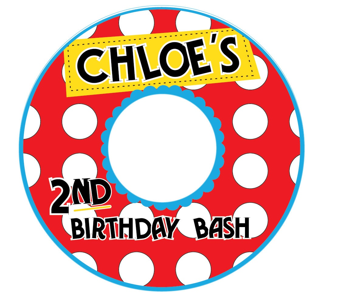 CD/DVD Label Spots And Dots Customized Printable Digital