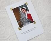 Funny Christmas Card I'm On the Naughty List  a Sassy Saying