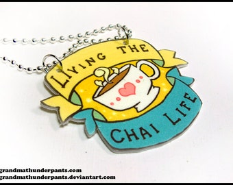 Living the Chai Life Necklace