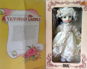 Gracious Lenore Victorian Ladies Antique Style Collectible Vintage Doll, IDEAL