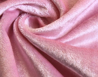 Soft Pink Cotton Velvet Upholstery Weight Fabric Commercial Curtain Fabric Fashion Velvet Upholstery Fabric Decorative Window Treatment