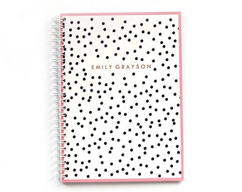 Personalized Notebook - Confetti