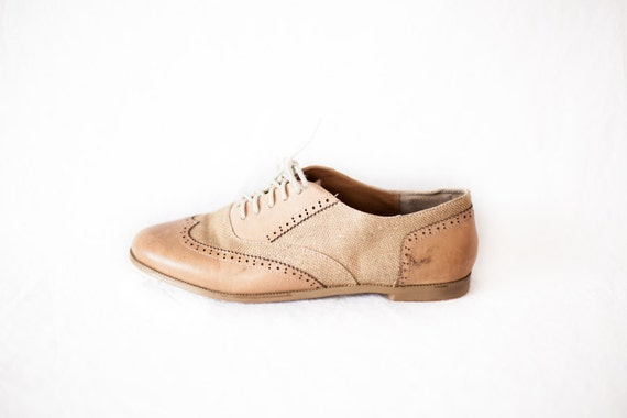 s light brown leather oxford dress shoes size by
