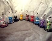 CHRISTMAS SALE! Pokemon Eevee evolution charms/necklaces Set