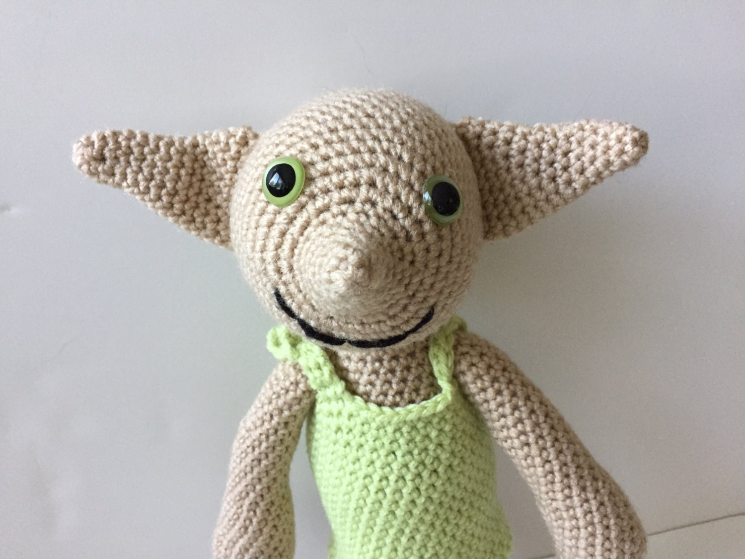 Dobby Harry Potter Amigurumi : Dobby-Puppe aus Harry Potter Crochet Amigurumi