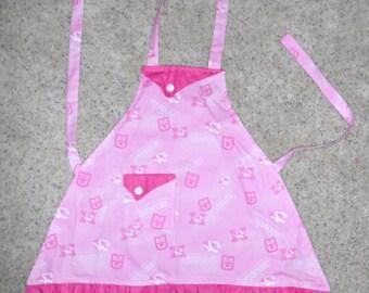 Mizzou Pink Girls Apron