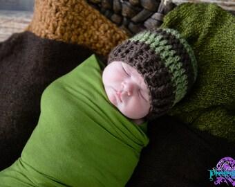 Newborn Boys Hat / Boys Winter Hat / Crochet Baby Hat / Baby Boy Hat / Gifts For Boys / Crochet Boys Hat / Boys Beanie / Boys Hat