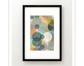 BOKEH no.40 - Giclee Print - Mid Century Contemporary Modern Abstract Modernist Ar