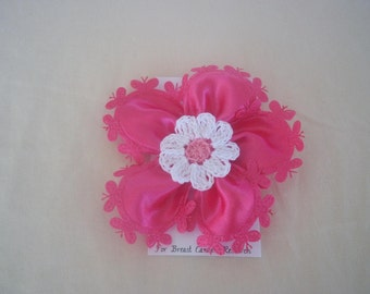 Hot Pink Double Flower