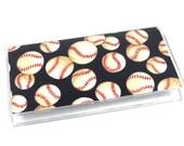 Checkbook Cover Baseball